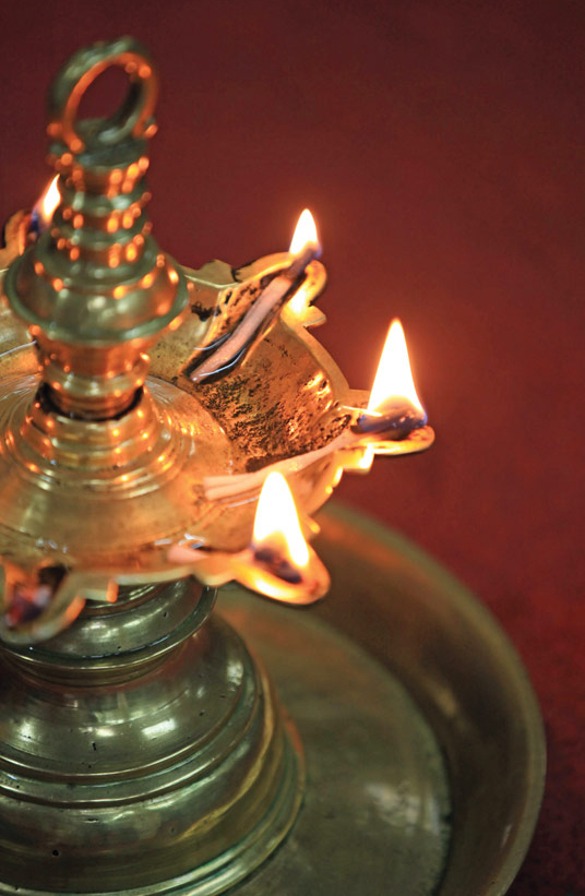 Lighting The Physical And Spiritual Darkness