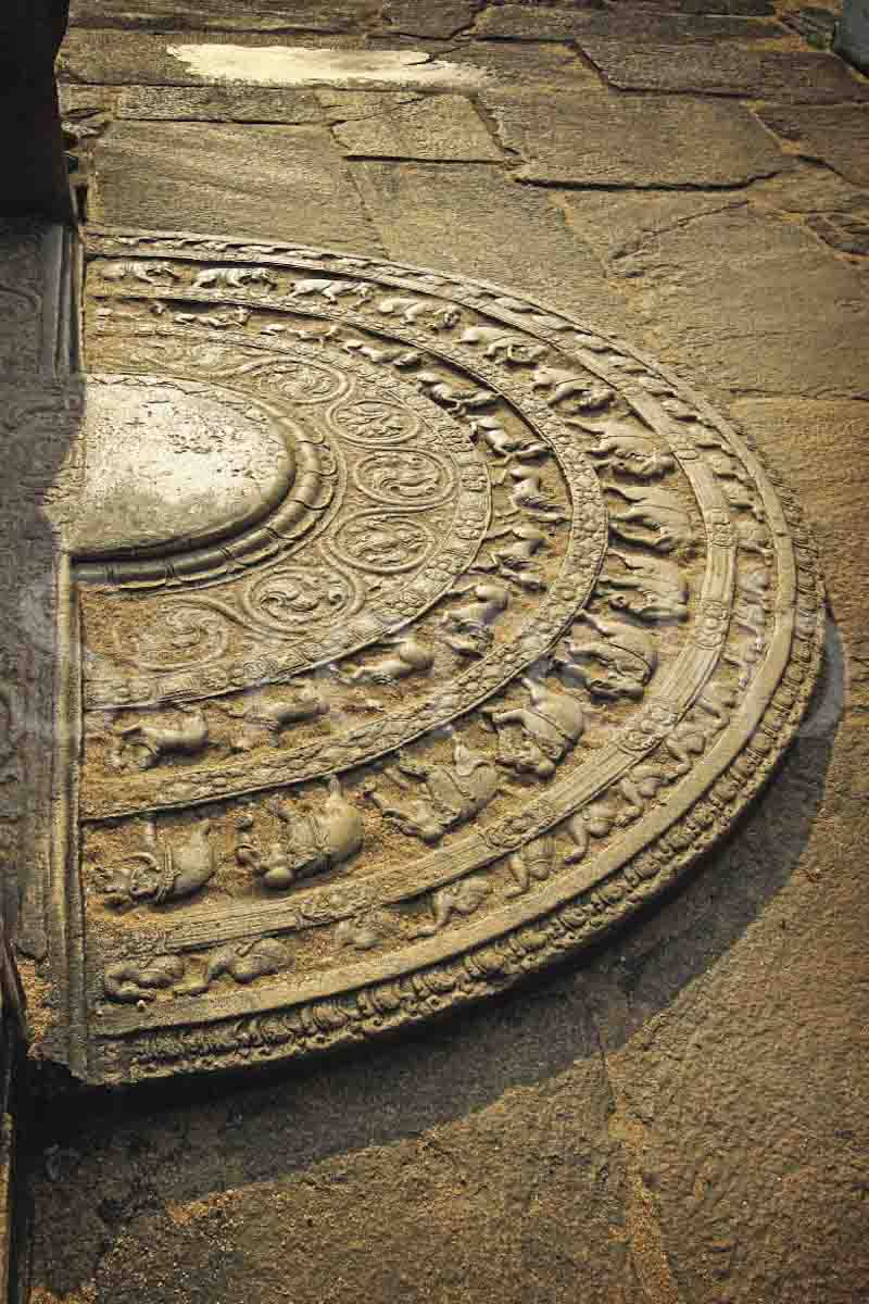 Ancient Stone Carvings : The moonstone